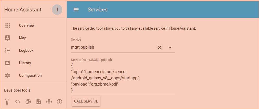 Apps MQTT sensor – Ariela